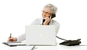 Seniorer i jobb = økonomiske gevinster