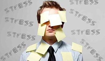 Flere ledere rammes av stress