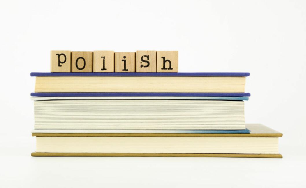 Polen utdanning lese språk colourbox