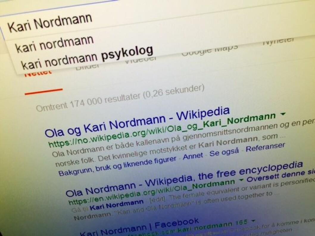Googlesøk