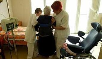 Flere faglærte i omsorgstjenestene