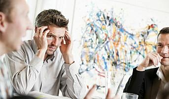 Tre grunner til å bli i jobben