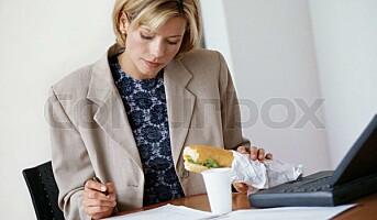 Mange ledere dropper lunsjen