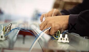 9 av 10 sier nei til svart elektro-arbeid