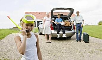 Sjekk bilen før feriestart!