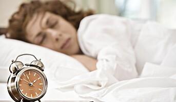 Jobbmengde og motstridende krav påvirker nattesøvnen