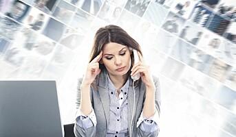 Dagens unge frykter for å bli utbrent og syk av jobben
