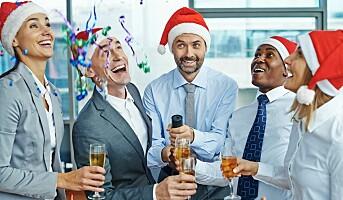 Hvordan kan vi forhindre at lederne tar helt av på julebordet?