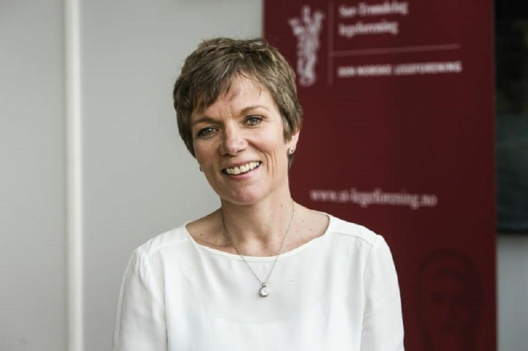 """MEDBESTEMMELSE: - For å oppnå """"pasientens helsetjeneste"""" er vi nødt til å spille på lag, sier Marit Hermansen, president i Legeforeningen. FOTO: Thomas Barstad Eckhoff"""