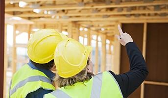Sysselsettingsvekst i byggenæringen