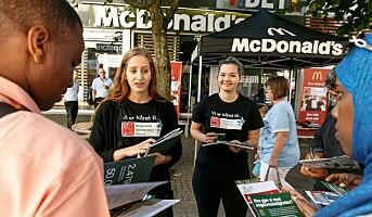 McDonald's i Norge fikk hederspris for inkludering og mangfold