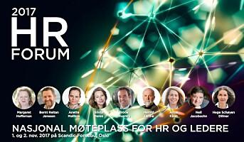 Har du meldt deg på HR Forum 2017?