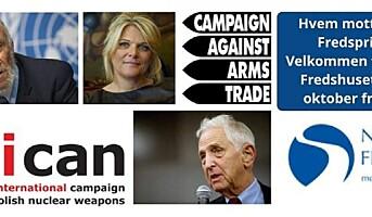 Norges Fredsråd kunngjør sine Nobelfavoritter