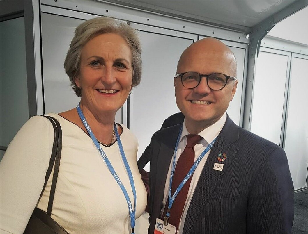 Vibeke Hammer Madsen og Vidar Helgesen i Bonn