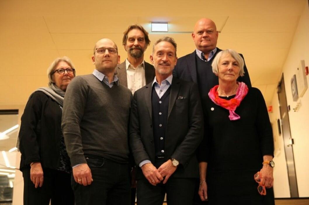 KS, Skolelederforbundet, Skolenes landsforbund, Utdanningsforbundet, Delta og Norsk Lektorlag. Foto: Hege K. Fosser Pedersen/KS