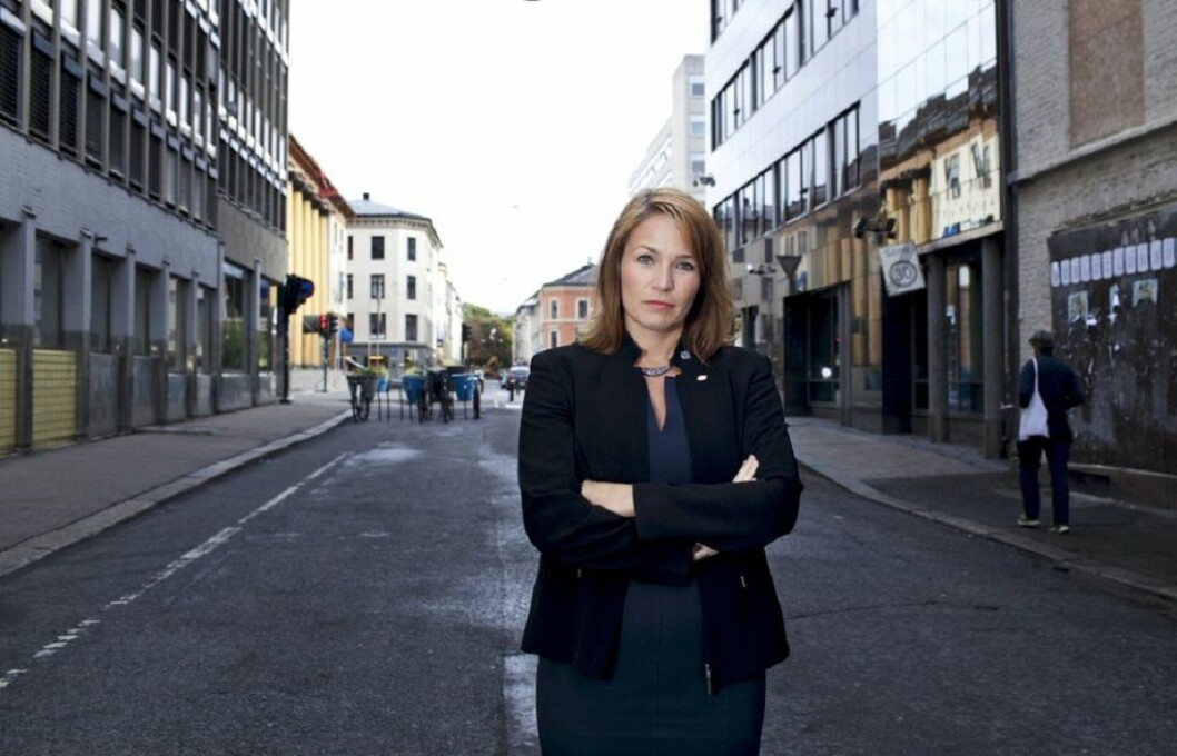 Forbundsleder i Handel og Kontor Trine Lise Sundnes.