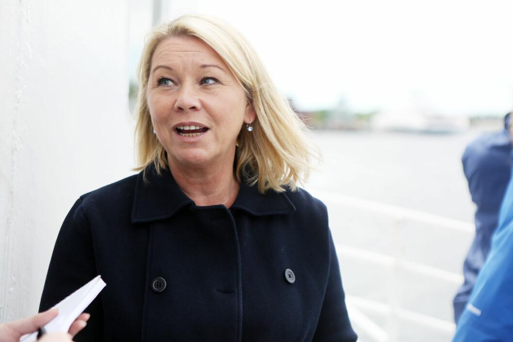 Næringsminister Monica Mæland. Foto: Håkon Jacobsen, NFD