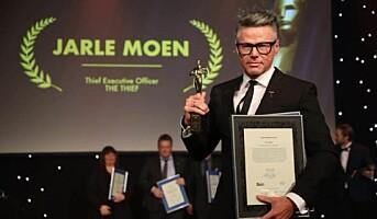 Sjefstyv Jarle Moen kåret til Årets Hotelier