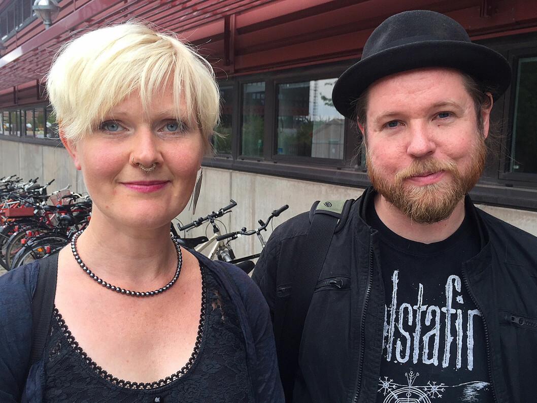 Forskerne Anna-Carin Fagerlind Ståhl og Christian Ståhl ved Linkøpings universitet har forsket på utbrenthet og arbeidsmiljø. (Foto: Linkøping universitet)
