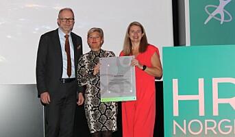 Maalfrid Brath fikk HR Norges Lederpris