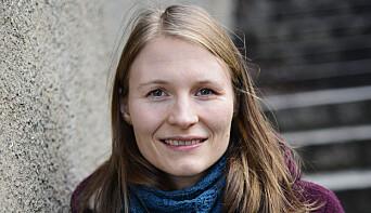 Forsker Mari Holm Ingelsrud.