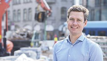 Christopher Ringvold er jobbanalytiker og produktdirektør på FINN jobb.