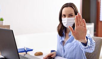 100 tips for å redusere SMITTERISIKO på jobben