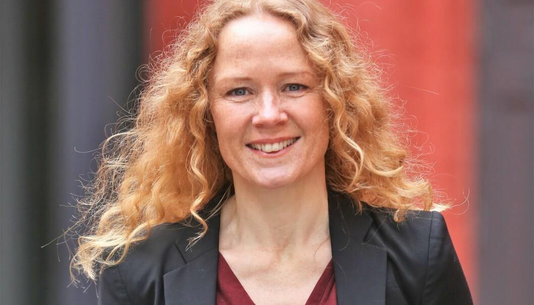 Påtroppende stabsdirektør for mennesker og teknologi i Innovasjon Norge, Helle Øverbye.