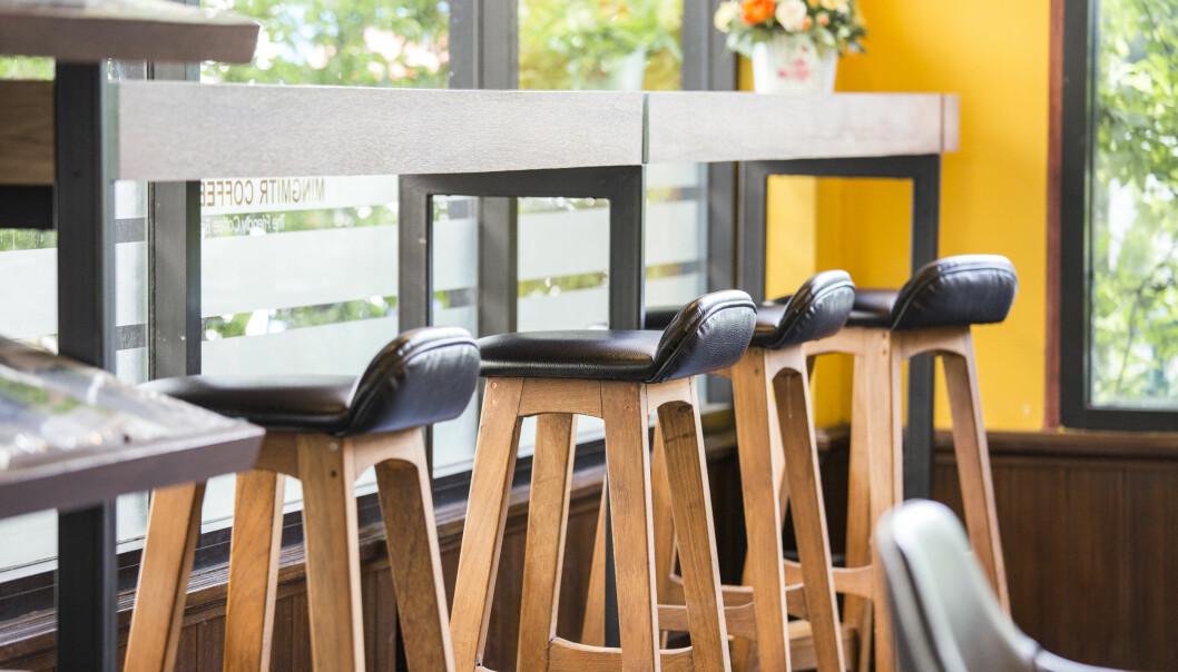 19,1 prosent flere restauranter og kafeer gikk konkurs i mai i år enn i samme måned i fjor.