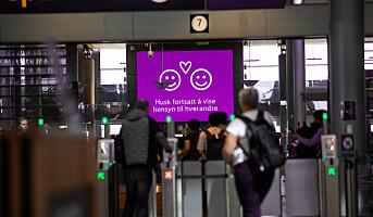 8 av 10 flypassasjerer er borte fra Avinors lufthavner