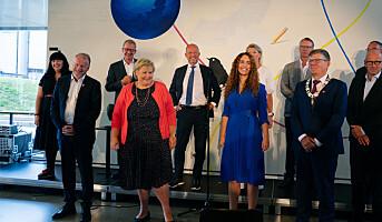 Topptung lansering av Oslo Science City