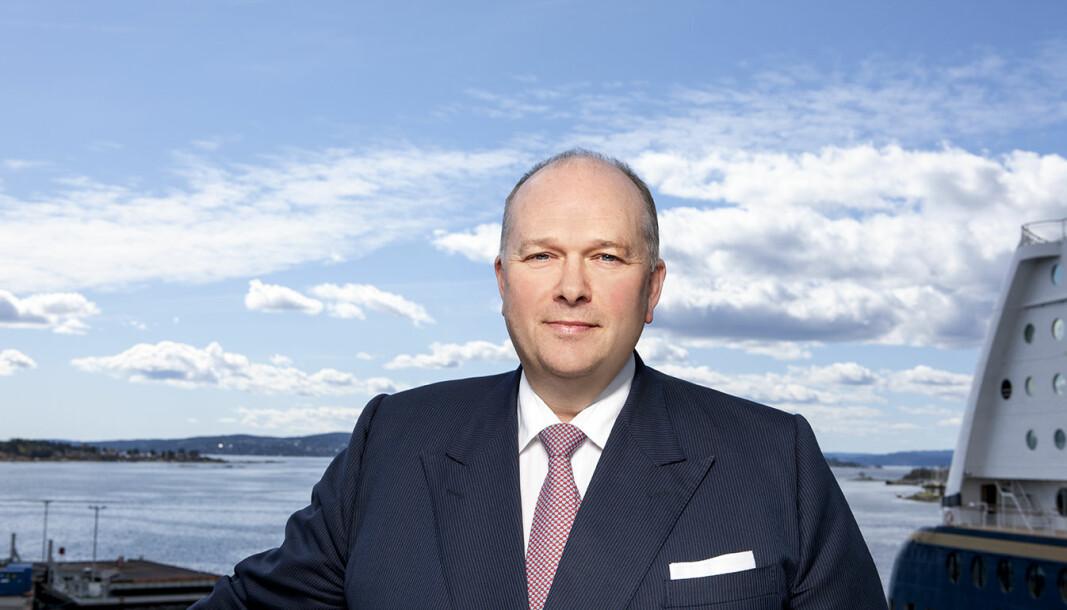 - Planene vil sikre arbeidsplasser og fremtidig lønnsomhet, sier konsernsjef Trond Kleivdal i Color Line.