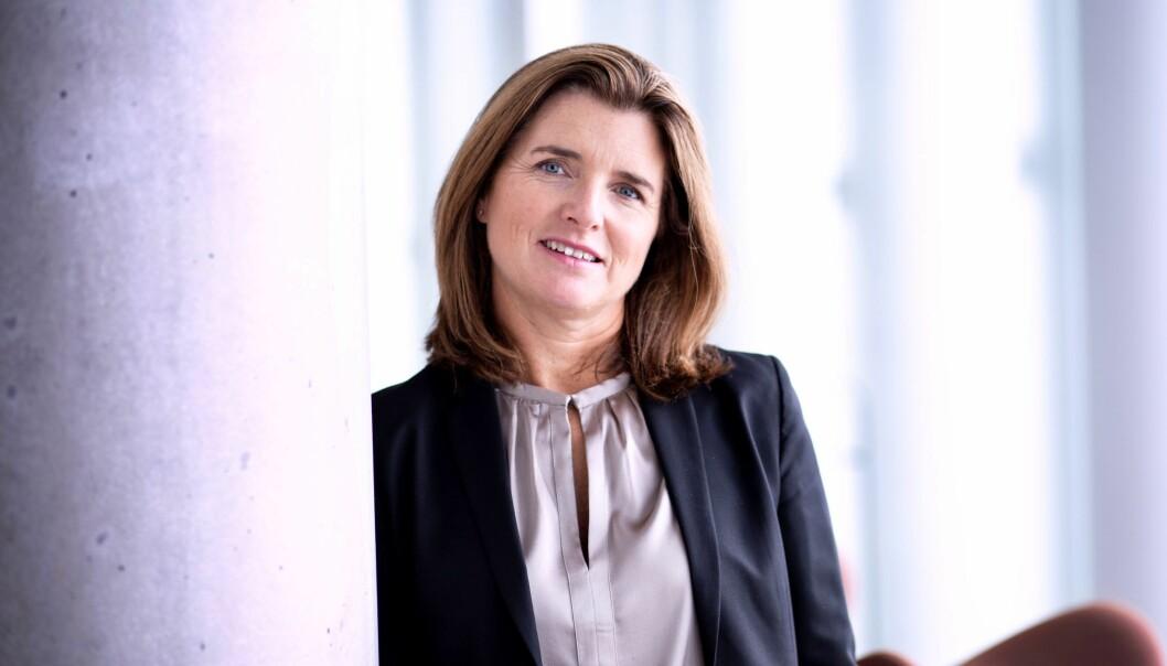Nina Schanke Funnemark tiltrer som ny skattedirektør i dag.