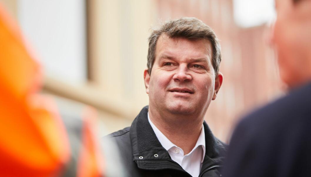 LO-leder Hans-Christian Gabrielsen gikk bort tirsdag 9. mars.