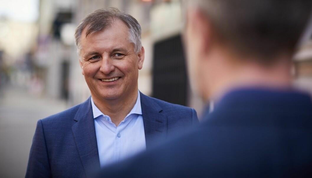 Eivind Bøe, administrerende direktør i Randstad.