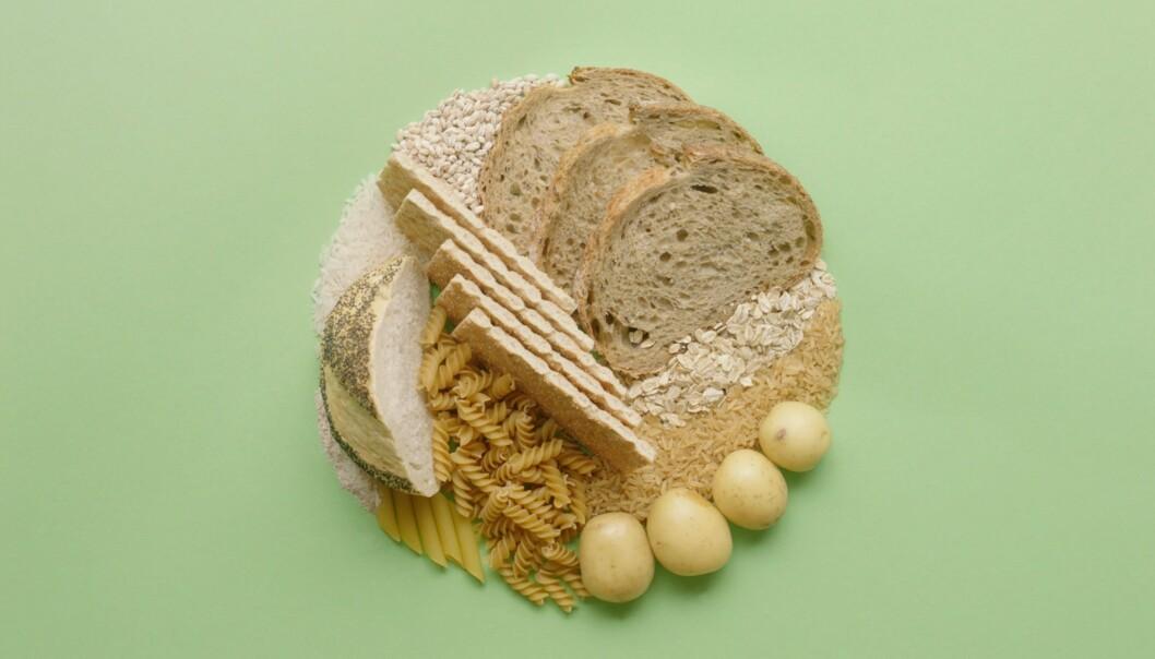 Et sunt kosthold inneholder variert mat. Det inkluderer også karbohydrater.