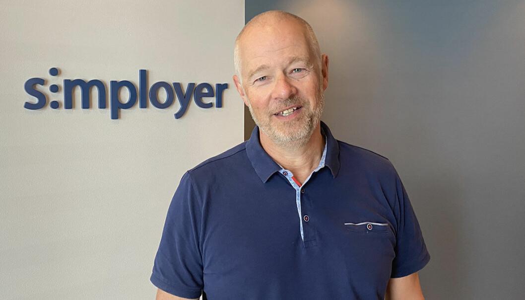 Økonomirådgiver Øivind Elvestad i Simployer.