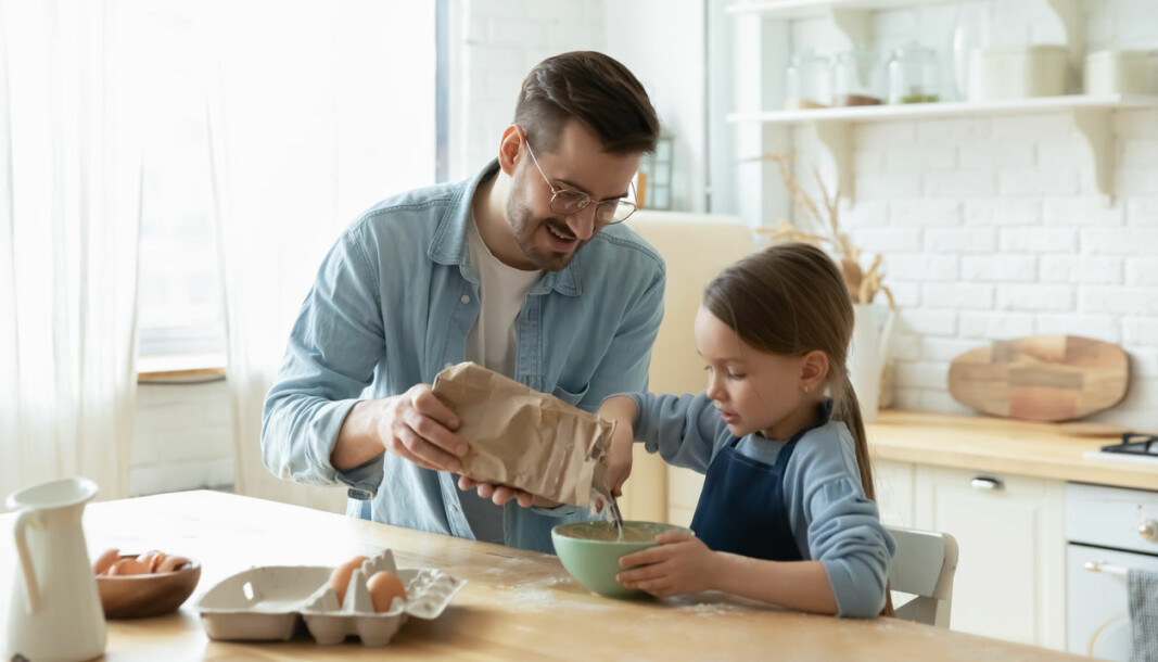 – Familiepolitikken de siste tiårene har lagt til rette for at kvinner skal kunne jobbe også mens de har små barn, og for at menn skal delta mer hjemme, sier Ragni Hege Kitterød.