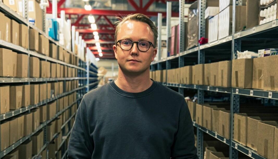 Patrick Hjetland, administrerende direktør i Apotera.no