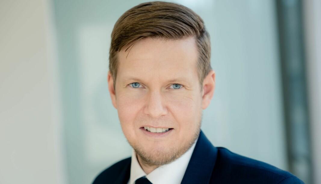 Administrerende direktør i NorSIS, Lars-Henrik Gundersen.