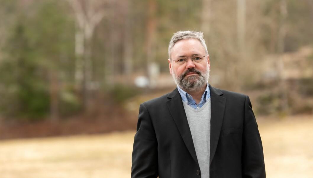 Forhandlingssjef i NITO, Knut Aarbakke.