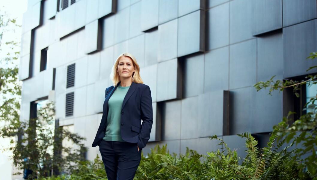 Kristine Dahl Steidel er ny administrerende direktør for Microsoft Norge fra 1. november.