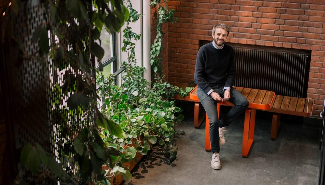 Jan Christian Vestre, daglig leder i møbelprodusenten Vestre AS.