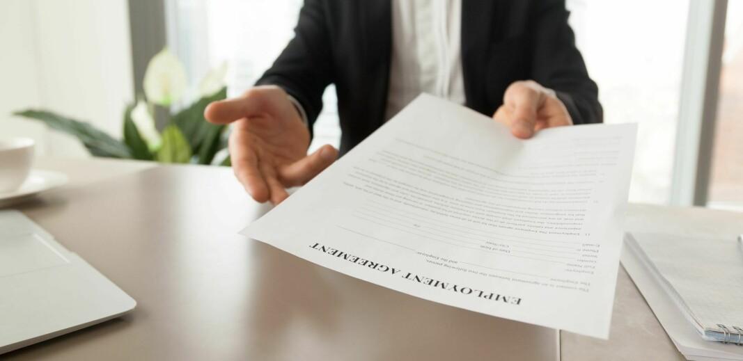 Retten til midlertidig ansettelser strammes inn av ny regjering