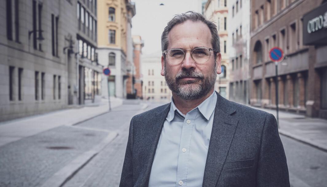 Daglig leder Per Fjærestad i Creditsafe Norway.