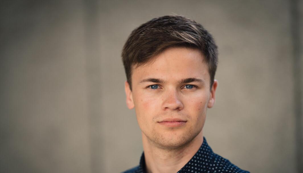 Leder av Tekna student, Erlend Hermansen.