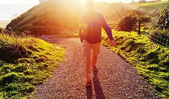 Fem overraskende fordeler med bare å gå