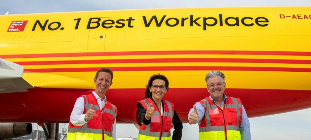 DHL Express kåret til verdens beste arbeidsplass